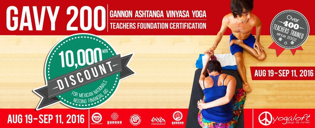 GAVY 200 Foundation Certification 200 hours