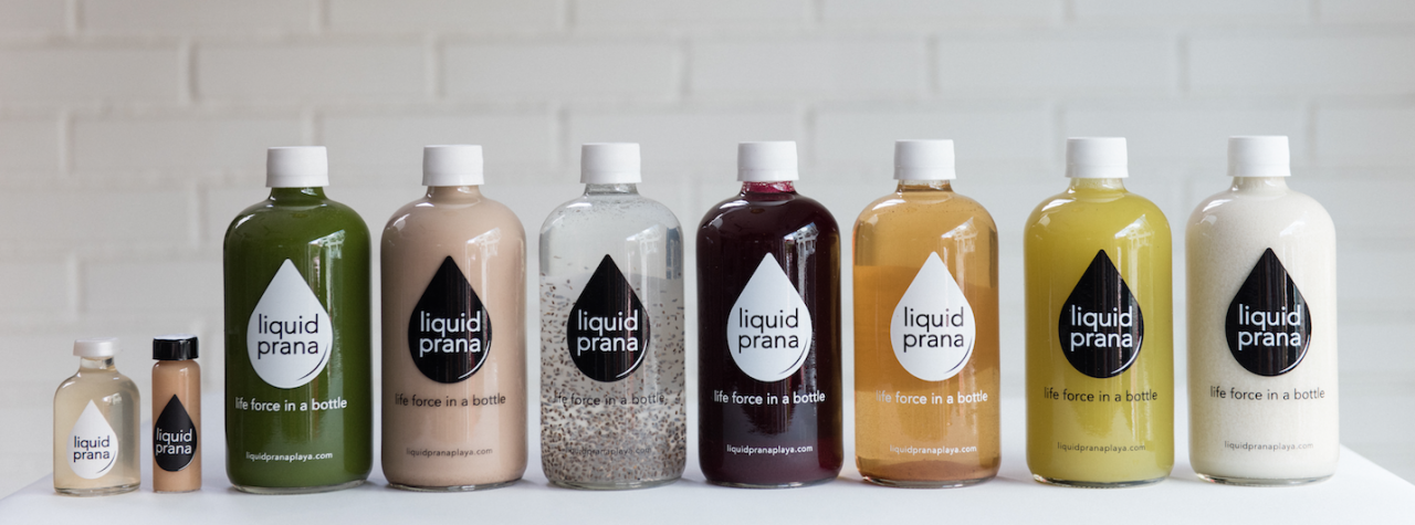 Liquid Prana Cold Pressed Juices