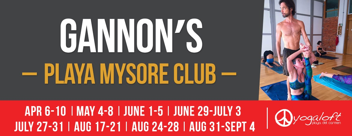 Gannon´s Playa Mysore Club dates for 2020