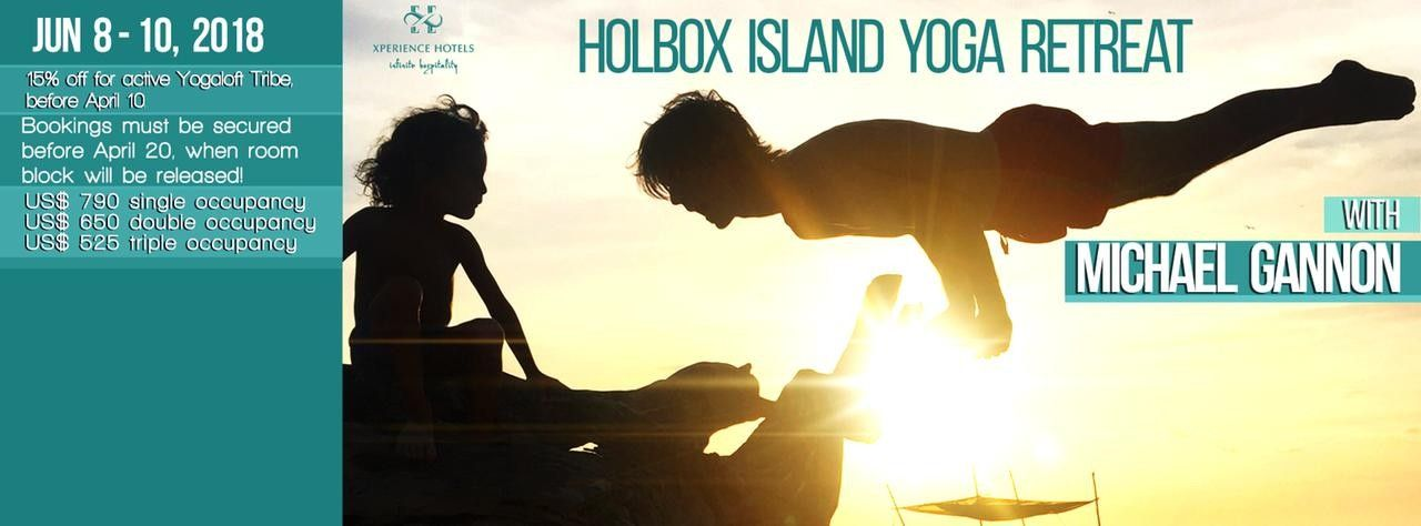 Holbox Island Yoga Retreat with Michael Gannon