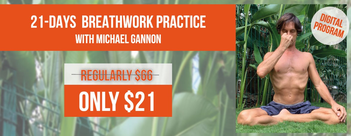 21-Days Breathwork Practice with Michael Gannon